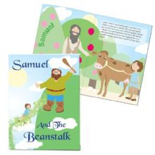 Personalised Jack and the Beanstalk Story Book P0512G97